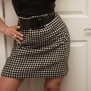 Wool Winter Pencil Skirt Sz8